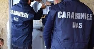 carabinieri nas per settacci e controlli per la normativa haccp